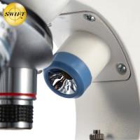 美国SWIFT光学生物显微镜儿童科学实验中小学生个性礼物便携玩具套装高倍高清1000倍