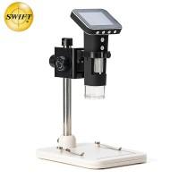 美国SWIFT电子数码显微镜无线带屏一体高清高倍500倍便携显微镜SS20-DM1