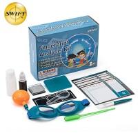 美国SWIFT中小学生儿童生物显微镜配件课程包实用 指纹制作
