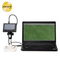 美国SWIFT电子数码显微镜带高清屏显示USB接口可连接电脑测量SS20-DM3检测便携式显微镜