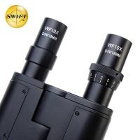 美国SWIFT双目光学生物显微镜专业40-2500倍高清高倍水产养殖螨虫检测三目显微镜便携式SW350
