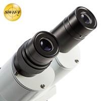 美国SWIFT光学双目专业体视显微镜维修电路高清带万向支架双软管灯 S41-20