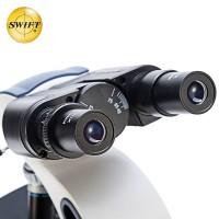 美国SWIFT三目光学生物显微镜专业高清2500倍科学研究高倍宠物医院畜牧水产养殖检测双目SW380B