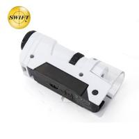美国SWIFT口袋显微镜迷你手持放大镜儿童头灯小型便携带灯高倍高清50X