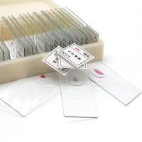美国SWIFT光学生物显微镜玻璃标本切片套装动物植物细胞配件载玻片实验儿童学生玻片