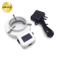 LED体视显微镜环形外置光源灯亮度可调大功率照明56颗灯珠内径63mm